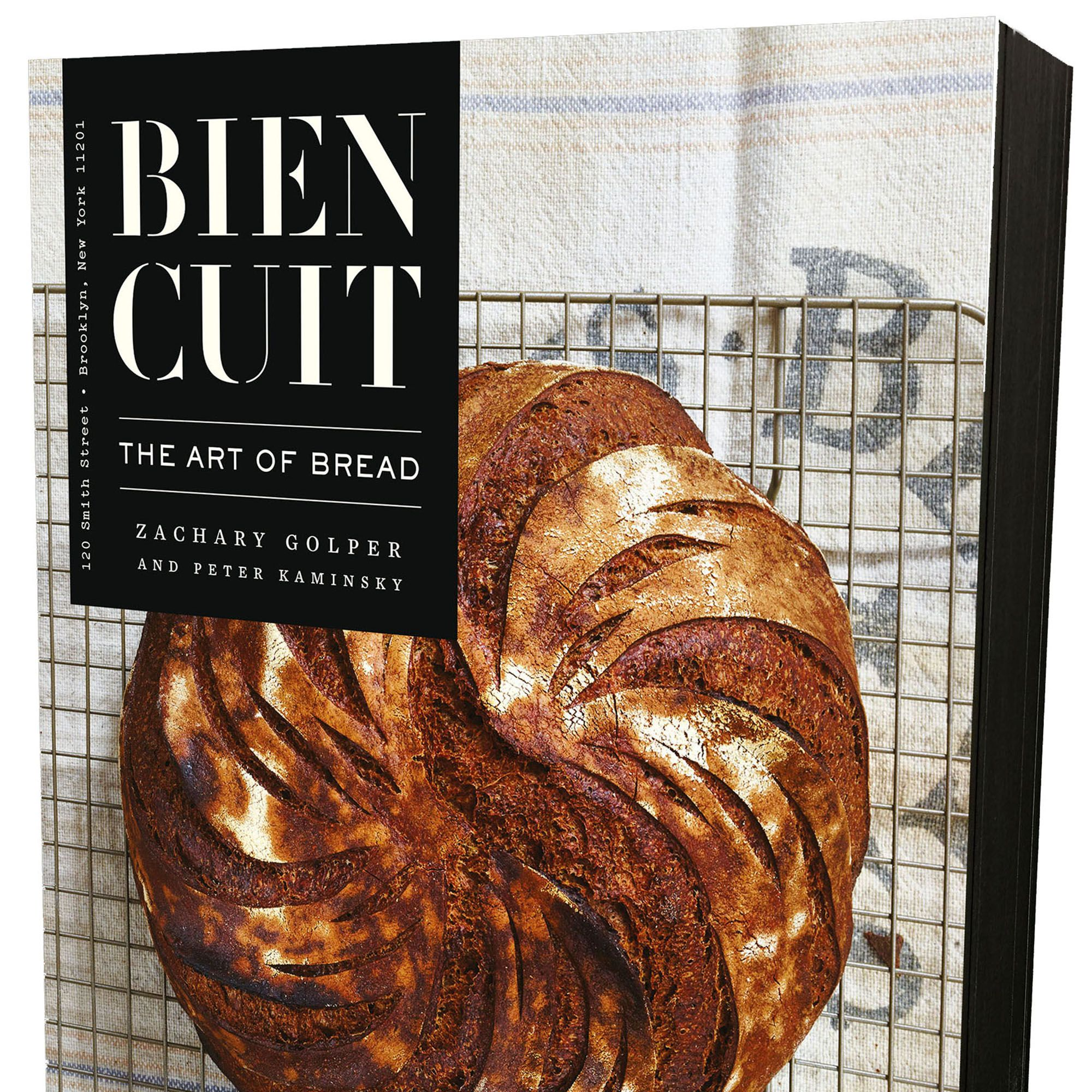 """<p><i>Bien Cuit: The Art of Bread</i> is one cookbook to keep on the coffee table. With its gorgeous photos and insightful recipes both simple and refined (think sun-dried pear and toasted poppy seed mini baguettes or olive bread), Chef Zachary Golper (of Bien Cuit bakery in Brooklyn) guides readers through inspired technique and process.</p><p><em><strong>Bein Cuit: The Art of Bread</strong></em>, $31, <a href=""""http://www.amazon.com/Bien-Cuit-The-Art-Bread/dp/1941393411"""" target=""""_blank"""">amazon.com</a>. </p>"""