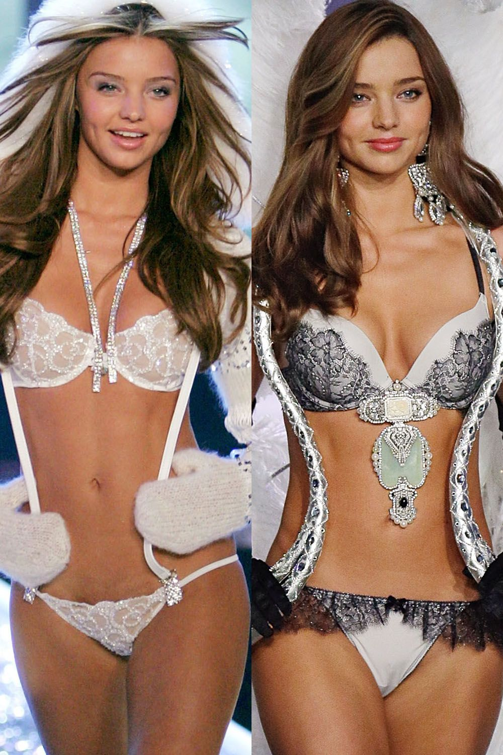 6386ab88840 Victoria s Secret Models  Then and Now