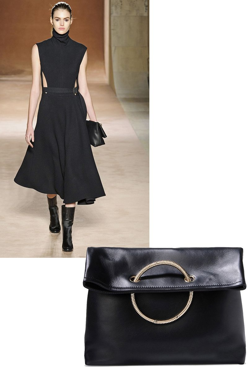 "<p><strong>Victoria Beckham</strong> clutch, <del>$1,495</del> $898, <strong><a href=""https://shop.harpersbazaar.com/designers/v/victoria-beckham/victoria-beckham-clutch-6331.html"" target=""_blank"">shopBAZAAR.com</a></strong>.</p>"
