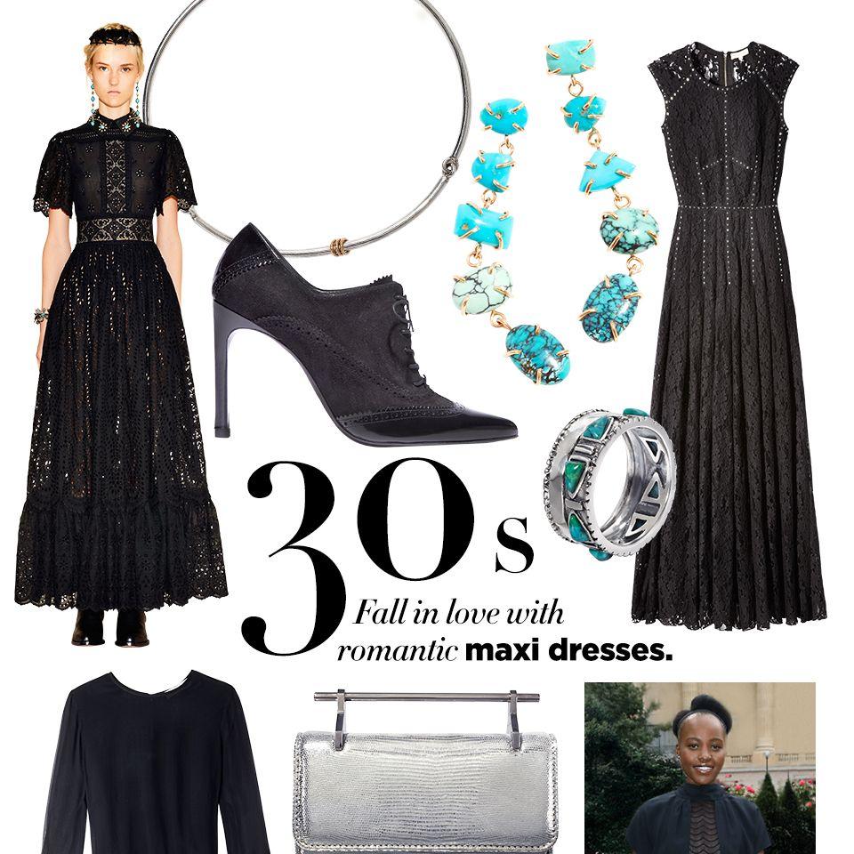 "<p><strong><strong>STYLIST'S TIP:</strong></strong> Turquoise jewelry lends a bohemian edge.</p><p><strong>Spinelli Kilcollin </strong>necklace, $1,200, <a href=""https://shop.harpersbazaar.com/jewelry/necklaces/"" target=""_blank"">shopBAZAAR.com</a><img src=""http://assets.hdmtools.com/images/HBZ/Shop.svg"" class=""icon shop"">&#x3B; <strong>Melissa Joy Manning </strong><span class=""redactor-invisible-space"">earrings, $,1590, 212-219-2194&#x3B; <strong>Rebecca Taylor </strong><span class=""redactor-invisible-space"">dress, $850, Neiman Marcus, 888-888-4757&#x3B; <strong>Stuart Weitzman </strong><span class=""redactor-invisible-space"">bootie, $465, 212-750-2555&#x3B; <strong>Silpada </strong><span class=""redactor-invisible-space"">ring, $59, <a href=""https://www.silpada.com/shop/shop/product/trailblazer-ring-R3365?"" target=""_blank"">shopBAZAAR.com</a><img src=""http://assets.hdmtools.com/images/HBZ/Shop.svg"" class=""icon shop"">&#x3B;  <strong>Erdem </strong><span class=""redactor-invisible-space"">dress, $1,325, Nordstrom, 800-695-8000&#x3B; <strong>Jill Heller Jewelry </strong><span class=""redactor-invisible-space"">ring $795, <a href=""https://shop.harpersbazaar.com/designers/j/jill-heller/turquoise-vintage-silver-ring-6935.html"" target=""_blank"">shopBAZAAR.com</a><img src=""http://assets.hdmtools.com/images/HBZ/Shop.svg"" class=""icon shop"">&#x3B; <strong>M2Malletier </strong><span class=""redactor-invisible-space"">bag, $1,143, similar styles available at <a href=""https://shop.harpersbazaar.com/"" target=""_blank"">shopBAZAAR.com</a><img src=""http://assets.hdmtools.com/images/HBZ/Shop.svg"" class=""icon shop"">&#x3B; <strong>Ralph Lauren </strong><span class=""redactor-invisible-space"">Midnight Romance, $94, <a href=""http://www.ralphlauren.com/home/index.jsp?direct"" target=""_blank"">ralphlauren.com</a>. </span></span></span></span></span></span></span></span><br></p>"