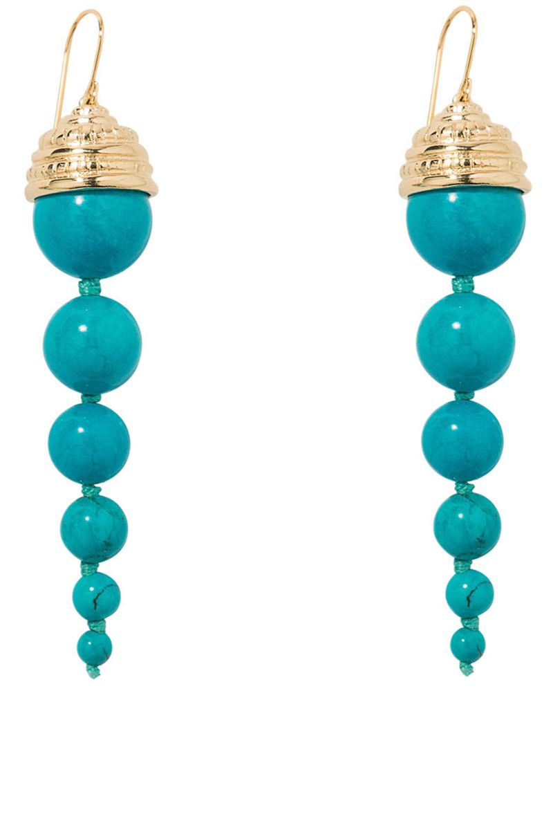 "<p><strong>Aurelie Bidermann</strong> earrings, $415, <a href=""https://shop.harpersbazaar.com/designers/aurelie-bidermann/lakotas-turquoise-earrings/"" target=""_blank"">shopBAZAAR.com</a><img src=""http://assets.hdmtools.com/images/HBZ/Shop.svg"" class=""icon shop"">.</p>"