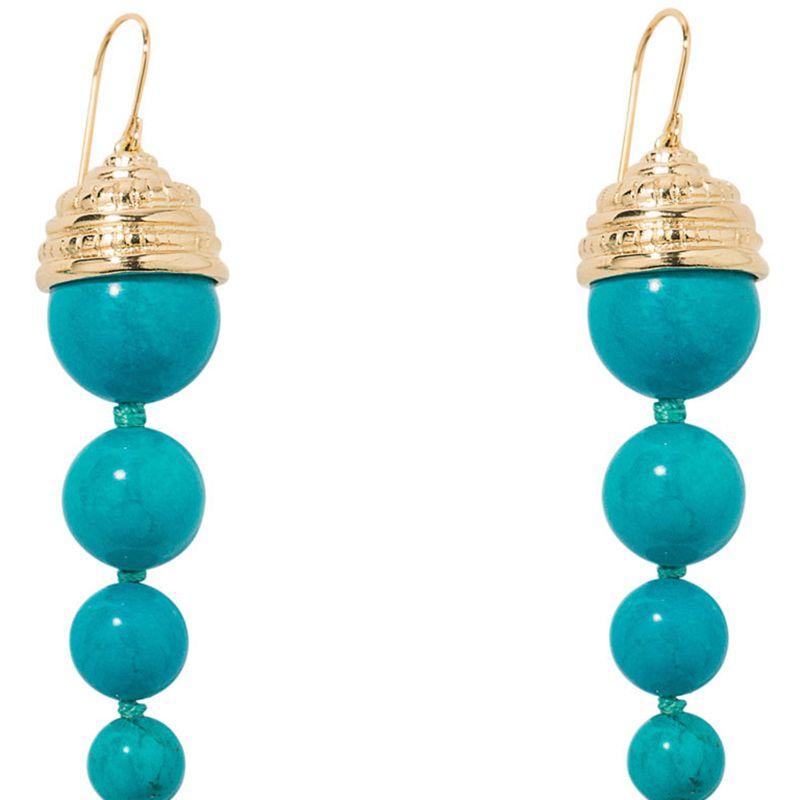 "<p><strong>Aurelie Bidermann</strong> earrings, $415, <a href=""https://shop.harpersbazaar.com/designers/aurelie-bidermann/lakotas-turquoise-earrings/"" target=""_blank"">shopBAZAAR.com</a><img src=""http://assets.hdmtools.com/images/HBZ/Shop.svg"" class=""icon shop"">.</p>"