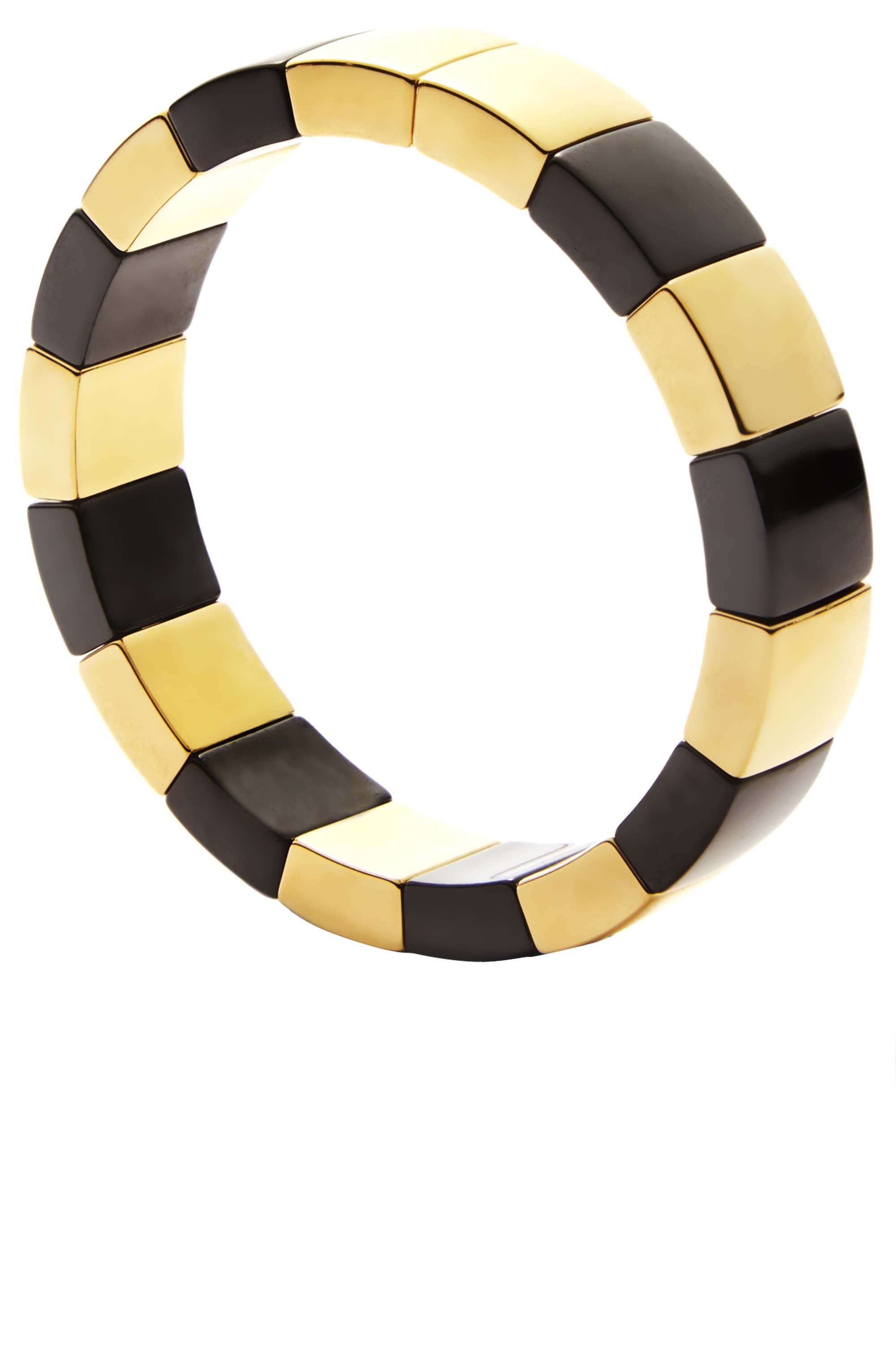 "<p><strong>Roberto Demeglio </strong>bracelet, $296, <a href=""http://www.robertodemegliousa.com/"" target=""_blank"">robertodemegliousa.com</a>. </p>"