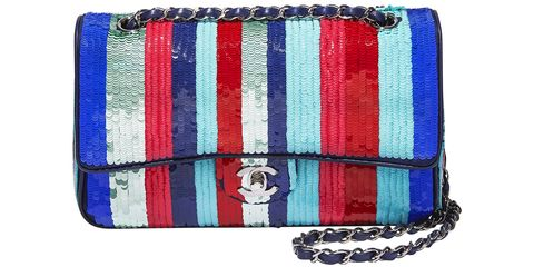 <p><strong>Chanel </strong>bag, $16,800, 800-550-0005.</p>