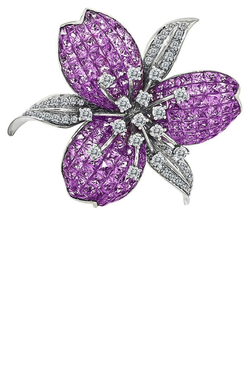 <p><strong>Le Vian </strong>brooch, 877-2-LEVIAN.</p>