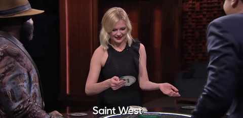 Kirsten Dunst Might Be the Only Person on Earth Who Doesn't Know Who Saint West Is