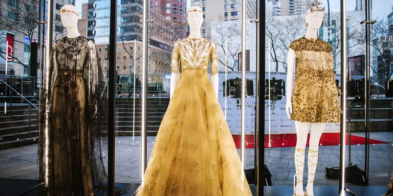 Valentino's Mirabilia Romae Couture Collection Exhibit Up Close