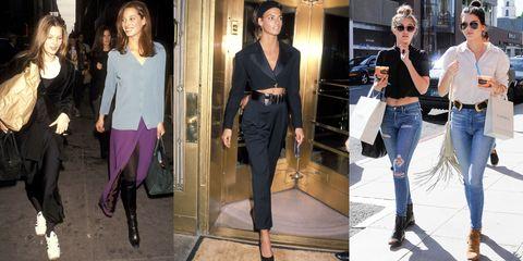 Clothing, Leg, Trousers, Denim, Textile, Outerwear, Jeans, Sunglasses, Style, Street fashion,