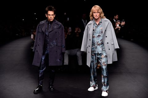 "<p>Zoolander is back. Much to everyone's surprise, Ben Stiller and Owen Wilson crashed the Valentino Fall 2015 runway at Paris Fashion Week to announce the <em>Zoolander</em> sequel,<i><em></em> <em></em></i> <a href=""http://www.harpersbazaar.com/fashion/fashion-week/news/a10238/valentino-stages-zoolander/"" target=""_blank""><em>Zoolander 2</em></a>. The fashion parody film will star a slew of A-listers, from Justin Bieber to Penelope Cruz, and rumored model cameos from Karlie Kloss and Naomi Campbell. The movies hits theaters in February of 2016.</p>"