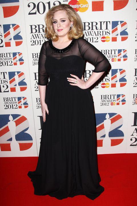 Adele\'s Red Carpet Evolution - Adele\'s Best Red Carpet Looks