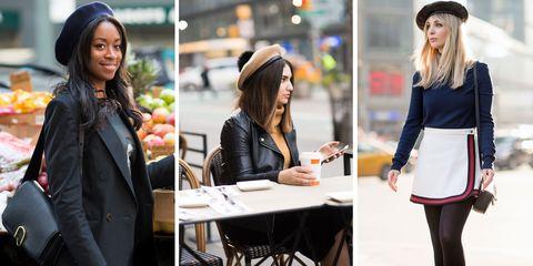 Sleeve, Jacket, Hat, Style, Street fashion, Collar, Fashion accessory, Headgear, Beauty, Fashion,