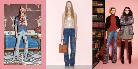 Clothing, Leg, Brown, Denim, Trousers, Jeans, Textile, White, Bag, Style,