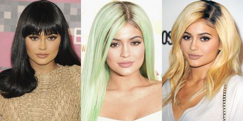 "<p>Before 2015, we could pretend that every celebrity had naturally thick, long hair and the time to go from jet black to platinum blonde in a day. We know better now. It was the year of wigs, extensions and clip-on bangs, and <a href=""http://www.harpersbazaar.com/beauty/hair/a13312/kylie-jenner-hairstyles-2015/"" target=""_blank"">Jenner led the pack</a>. </p>"