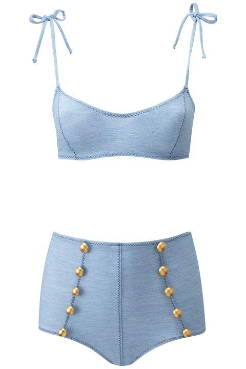 "<p><strong>Lisa Marie Fernandez</strong><strong> </strong>suit, <a href=""http://lisamariefernandez.com"" target=""_blank"">lisamariefernandez.com</a>.</p>"