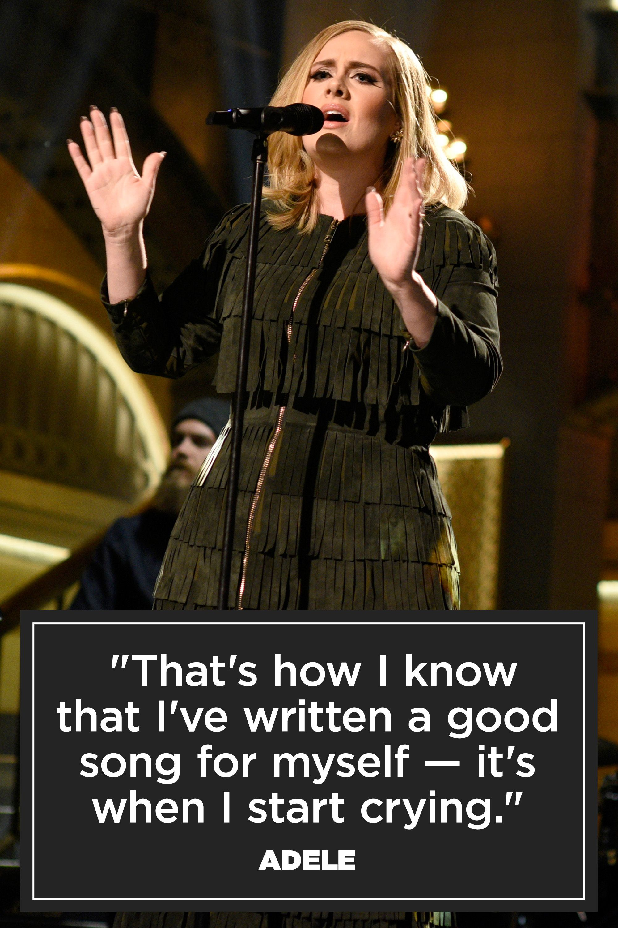 Wedding Singer Quotes 9 Of Adele's Best Quotes  Inspiring Adele Quotes To Live By
