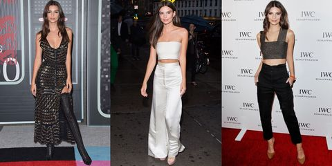 <p>She goes from Altuzarra to a crop top with ease and boasts an Instagram following of 4.2 million followers. Already a well-known name in the fashion scene (Marc Jacobs cast her on his runway and in his campaign), Ratajkowski's style star is just going to get brighter. </p>