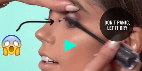 How Kylie Jenner's Makeup Artist Fixes Mascara Mistakes Will Blow Your Mind