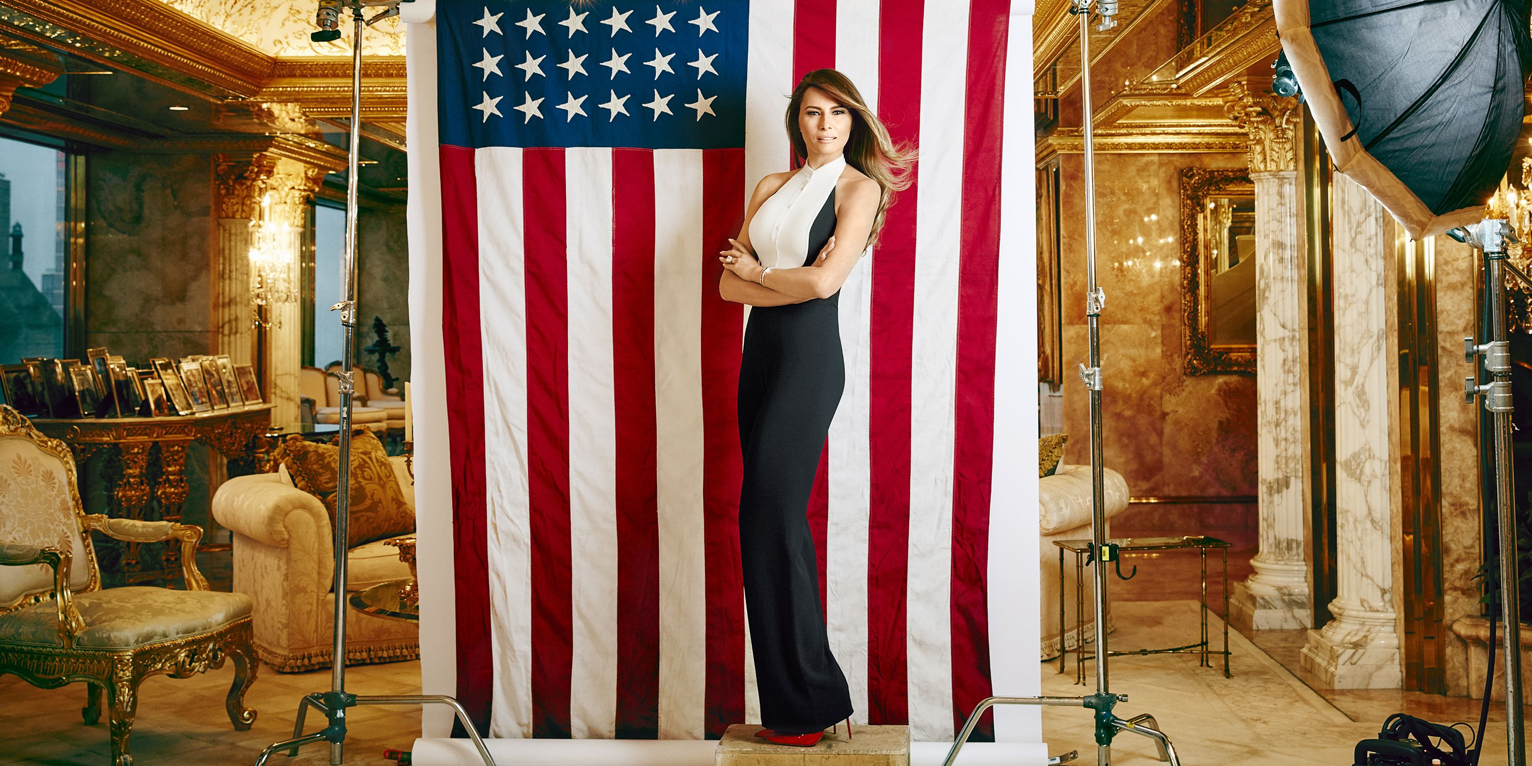 melania trumps first interview about husband donald trumps campaign for the gop nomination