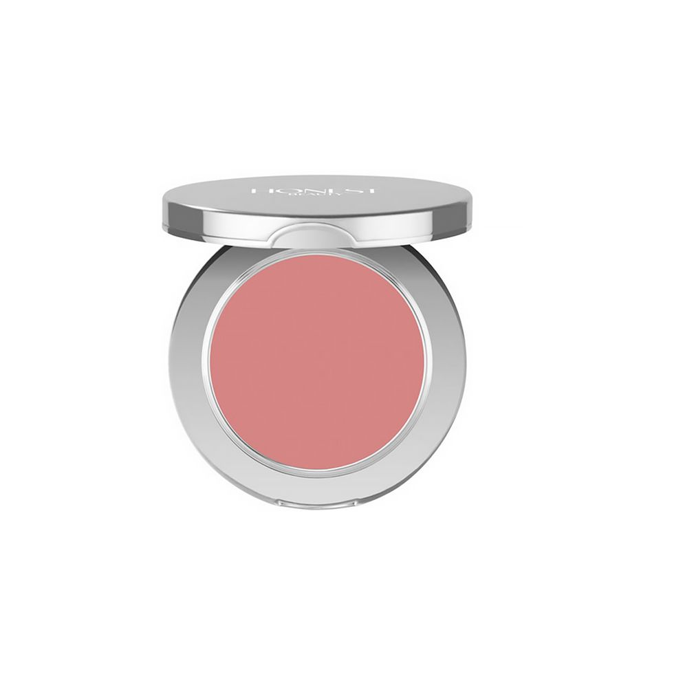 """<p>Nothing can perk up morning face like a sweep of pinky blush. Instead of fumbling with a crumbly compact, look to a creamy, yet dense formula that will make the apples of your cheek pop without ruining the lining in your bag. Bonus? It can double as a lip color.</p><p>Honest Beauty Creme Blush, $22; <a href=""""https://www.honestbeauty.com/products/cream-blush?"""" target=""""_blank"""">honestbeauty.com</a>.</p>"""