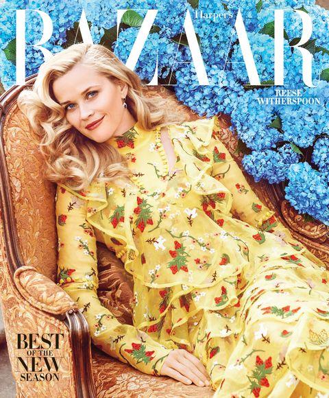 Reese Witherspoon Harper S Bazaar February 2016 Cover Shoot Reese Witherspoon Interview With Harper S Bazaar