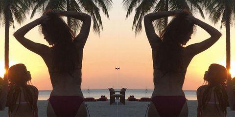 Fun, People, Human body, People on beach, People in nature, Leisure, Summer, Horizon, Sunlight, Back,