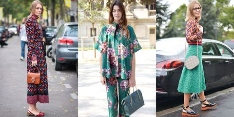 """<p>The Italian fashion-house is leading the charge with its eclectic mix of patterns and fabrics for Spring 2016. Think: unexpected styling combinations with an extra dose of charm. The street style pack are already catching on.<span class=""""redactor-invisible-space""""></span></p>"""