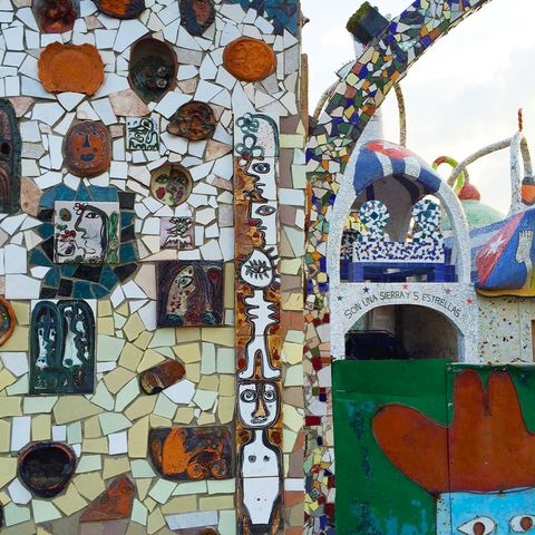 "<p>The mosaic work covering the home of sculptor <a href=""http://havana-cultura.com/en/visual-arts/jose-fuster"">José Fuster</a> in Havana<strong></strong></p>"