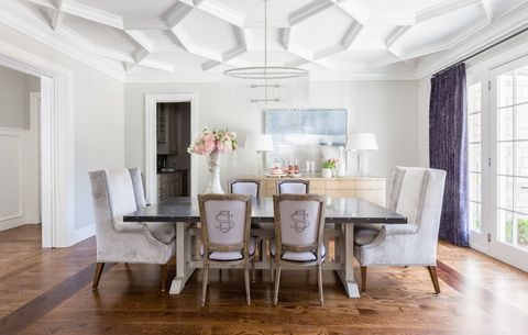 "<p>We are beyond ready for sit-down family meals to make a comeback, and thankfully, Houzz reports that more homeowners are opting to keep their <a href=""http://www.elledecor.com/design-decorate/room-ideas/g2367/bold-dining-rooms/"" target=""_blank"">formal dining rooms</a> instead of converting them into media rooms or offices. Here's hoping they're all as stylish as the <a href=""http://www.elledecor.com/design-decorate/house-interiors/a7928/house-tour-breezy-tulsa-home/"" target=""_blank"">pale purple number here</a>.</p>"