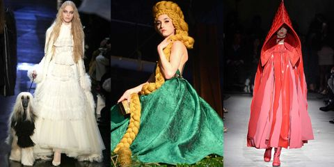 Fairytale Fashion on the Runway - Fairytale Inspiration on the Runway