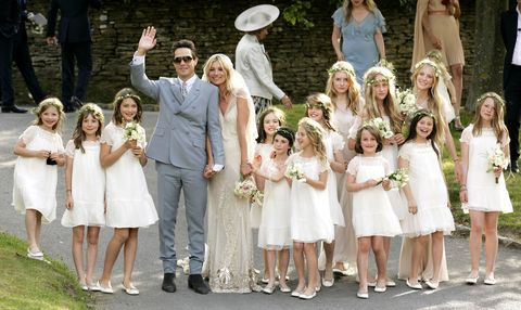 <p>While your friends always appreciate the honor of being a bridesmaid, they'll appreciate being able to wear what they'd like even more. Forgo a traditional American bridal party and take inspiration from the chicest of bridal Brits; Kate Moss and Kate Middleton both opted for a maid of honor and an entourage of perfectly styled girls and page boys.</p>