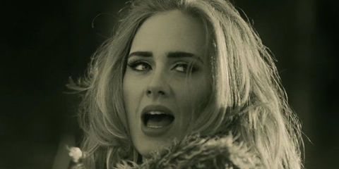 "Adele 's ""Hello"" Just Broke Another Huge Record"
