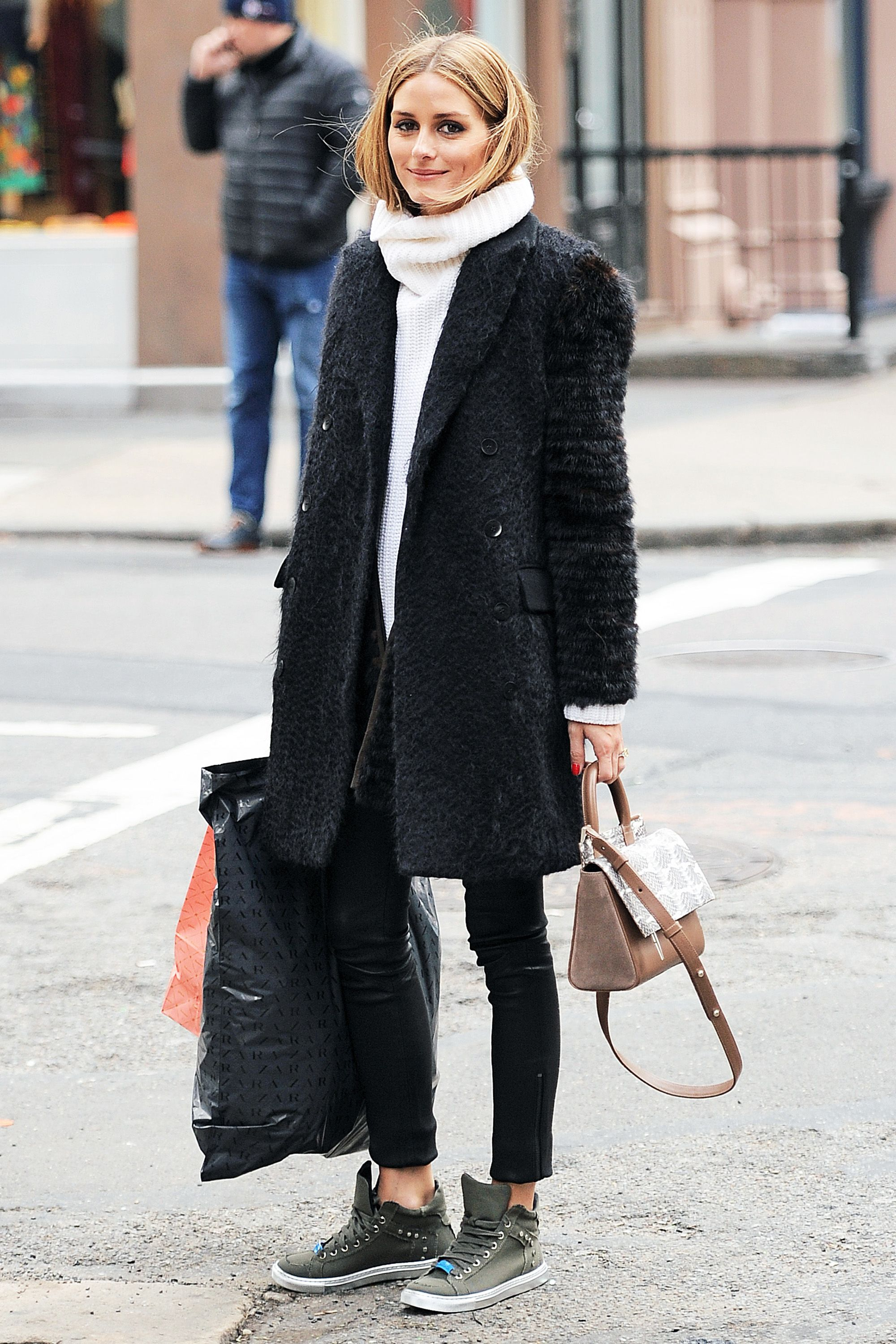 95d896fe67f7a 50 Turtleneck Outfits for a Chic Winter Look - How To Wear A Turtleneck  Sweater