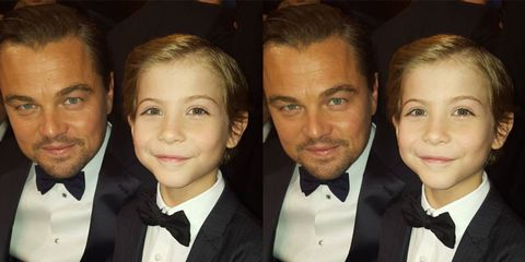 Jacob Tremblay Took a Picture with Leonardo DiCaprio and It Might Make Your Heart Explode