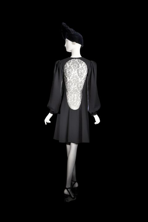 Clothing, Sleeve, Style, Formal wear, Black, Fashion illustration, Costume design, Costume accessory, Day dress, One-piece garment,