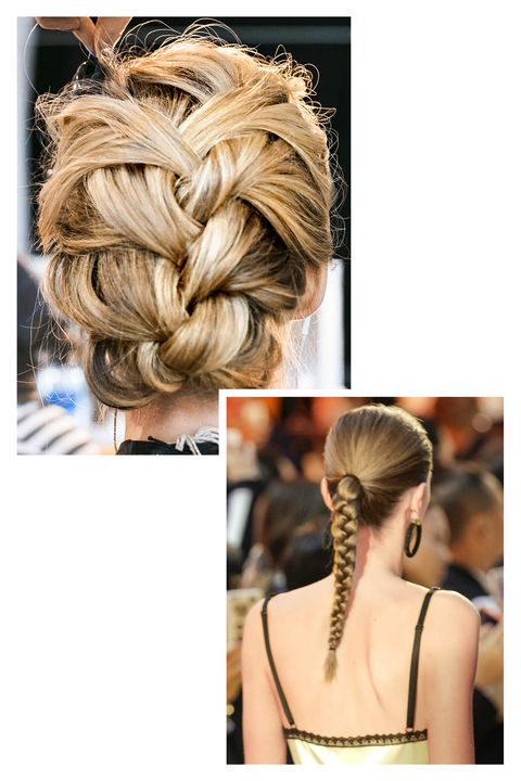 Brown, Hairstyle, Style, Earrings, Beauty, Blond, Neck, Hair accessory, Back, Long hair,