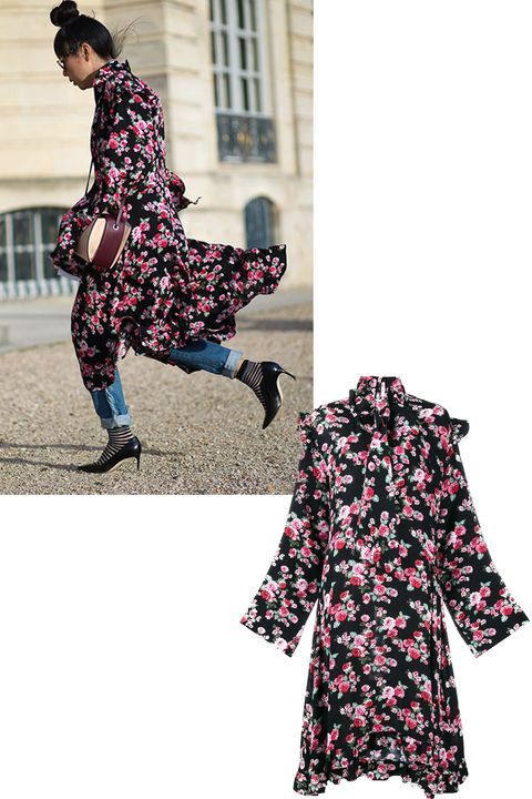 <p>Two words: florals and Vêtements. The print and the Paris-based cult label were <em>everywhere</em>—the latter gaining fame because its creative director, Demna Gvasalia, was recently appointed the top job at Balenciaga, too.</p>