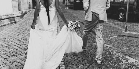 Clothing, Trousers, Dress, Petal, Photograph, White, Formal wear, Style, Bridal clothing, Wedding dress,