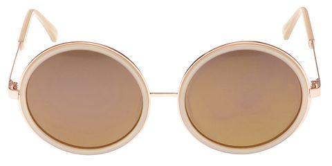 "<p><em>Samantha Wills sunglasses, $250, <a href=""http://www.samanthawills.com/shop/eyewear/drew-rose-gold-46465.html"" target=""_blank"">samanthawills.com</a>. </em></p>"