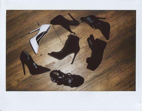 Product, Brown, Wood, Hardwood, Flooring, Sandal, Black, Wood flooring, High heels, Beige,