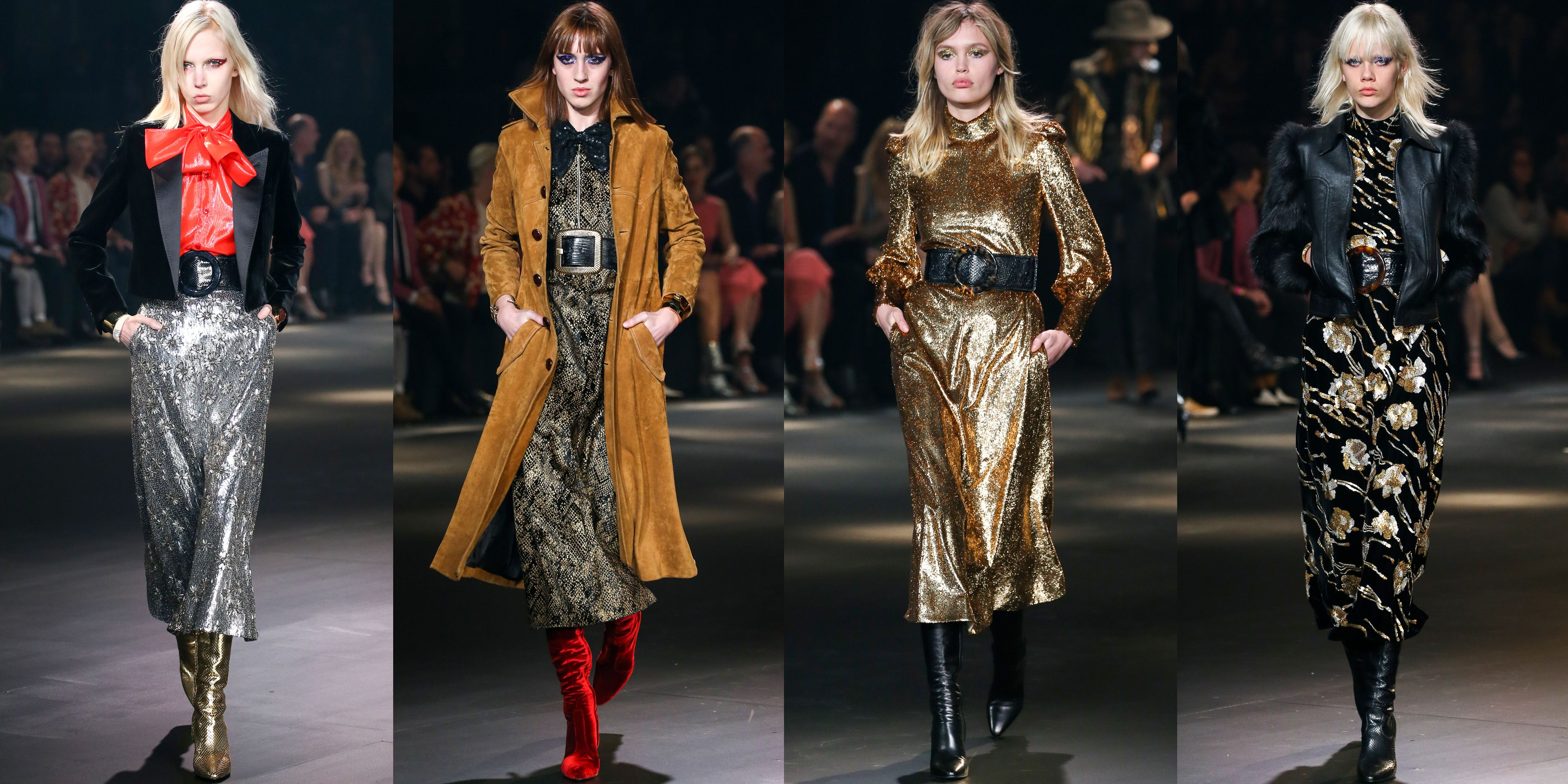 82355f1d48f See All The Runway Looks From Saint Laurent's Fall 2016 Show at the  Palladium