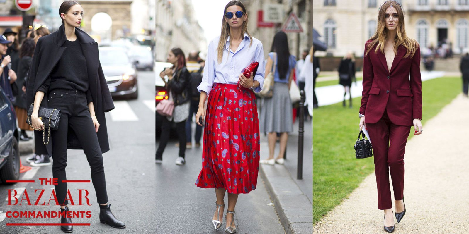The BAZAAR Commandments: Dressing for a Fashion Job