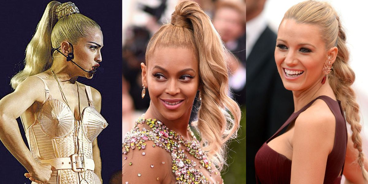 18 Iconic Ponytails Best Celebrity Ponytail Hairstyles