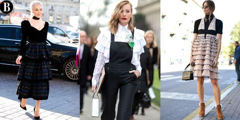 Clothing, Leg, Sleeve, Shoulder, Collar, Waist, Photograph, Outerwear, Street fashion, Style,