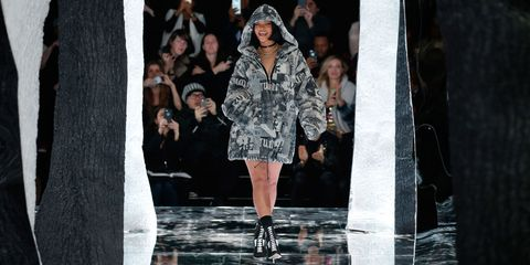 Fashion show, Outerwear, Runway, Dress, Hat, Fashion model, Style, Street fashion, Fashion, Model,