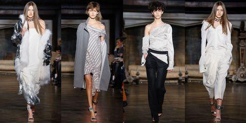 Clothing, Leg, Shoulder, Fashion show, Fashion model, Waist, Style, Runway, Street fashion, Beauty,