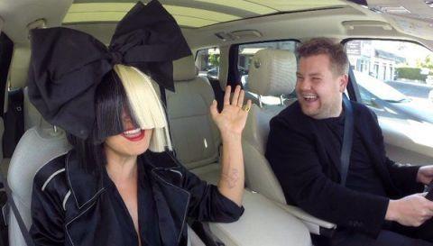 Sia To Be James Corden's Next Passenger For Carpool Karaoke