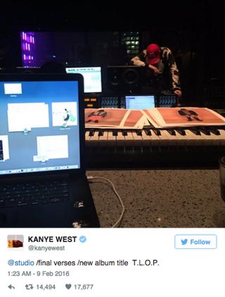 Kanye West Changes Album Title Name - Kanye West's New Album