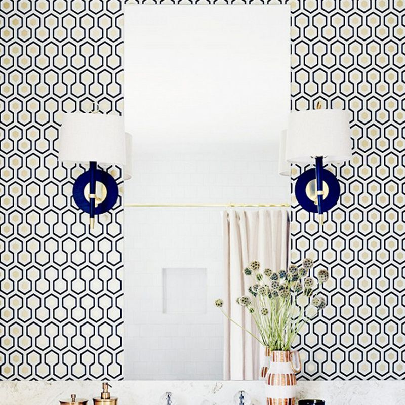"""<p>Add a pop of color to your bathroom with punchy cabinets or bold sconces. </p><p><em><a href=""""http://www.chrispatey.com/"""" target=""""_blank"""">Via Christopher Patey</a></em><a href=""""http://www.chrispatey.com/""""></a></p>"""