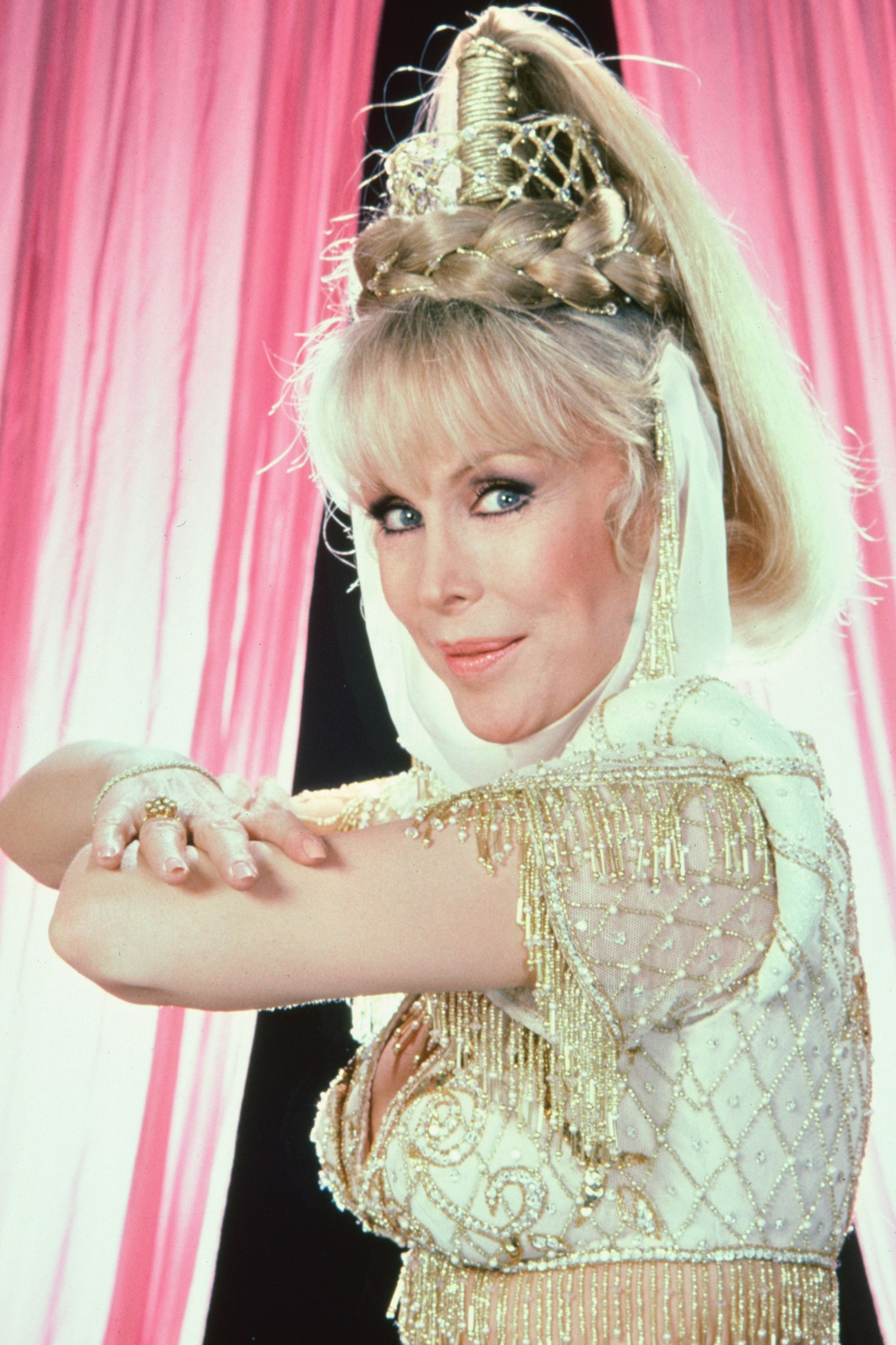 <p>Barbara Eden in <em>I Dream of Jeannie</em></p>