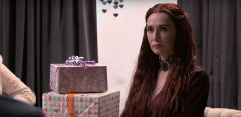 Melisandre Attends Seth Meyers' Baby Shower-Game of Thrones